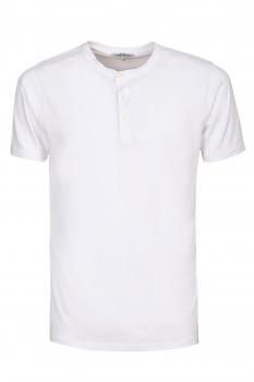 Tricou slim alb