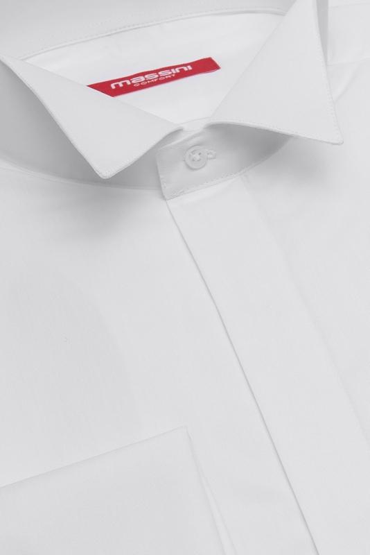 Camasa superslim alba uni