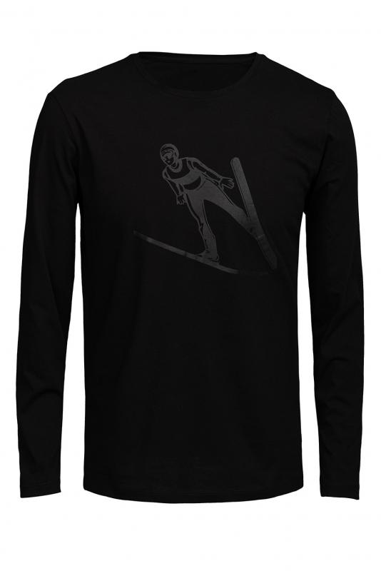Bluza neagra schior