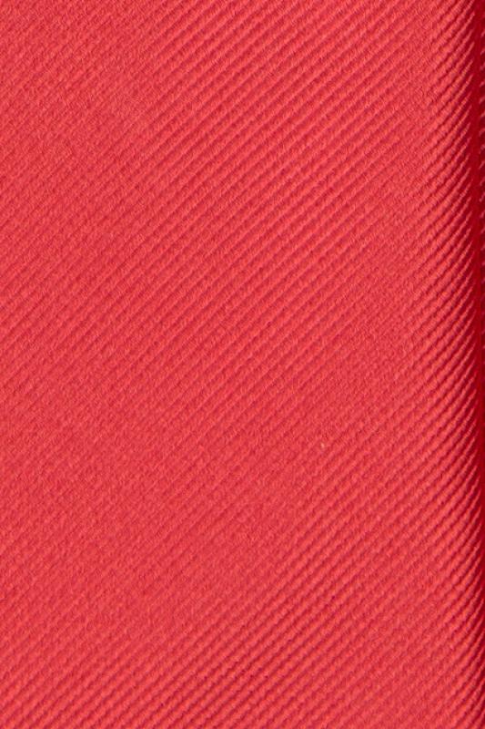 Cravata poliester tesut rosie uni