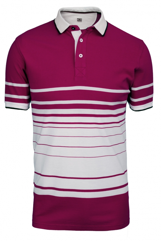 Tricou polo slim cyclam in dungi