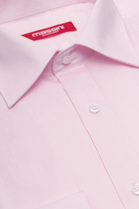 Camasa regular roz uni