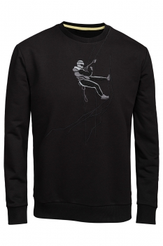 Bluza regular neagra alpinist