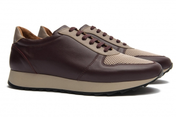 Sneakers Bigotti grena piele naturala