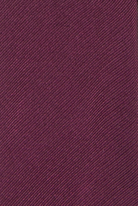 Cravata matase tesuta pruna uni
