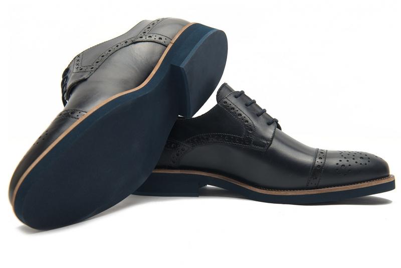 Pantofi Bigotti  bleumarin piele naturala