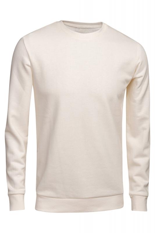 Bluza regular alba uni