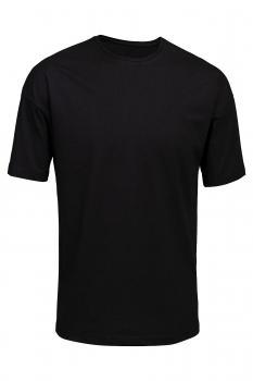 Tricou negru oversize