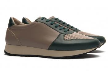 Sneakers Bigotti verzi piele naturala