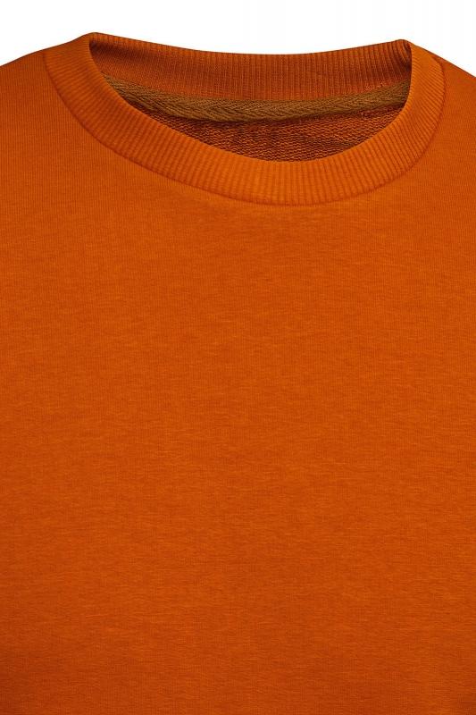 Bluza regular caramiziu uni