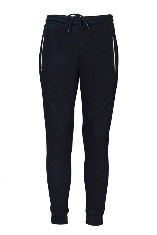 Pantaloni trening slim bleumarin