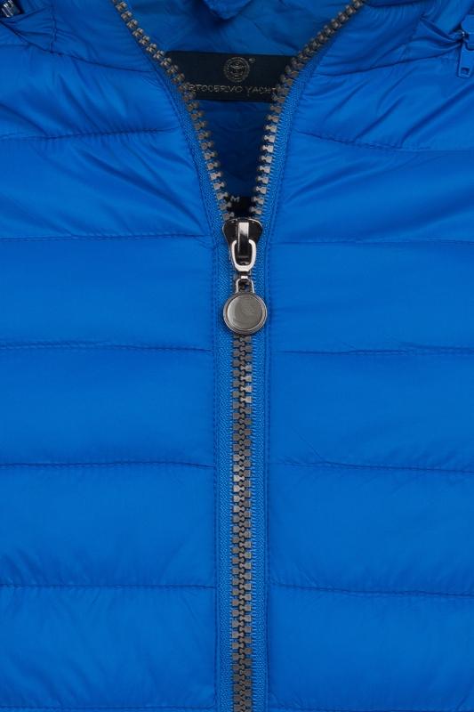 Jacheta slim albastra