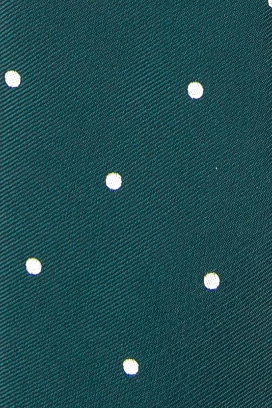 Cravata verde print geometric