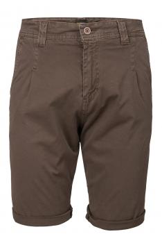 Pantaloni scurti slim maro Bigotti