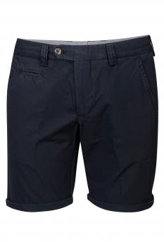 Pantaloni scurti slim bigotti bleumarin
