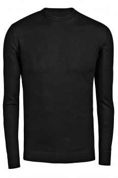 Pulover negru uni