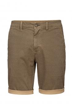 Pantaloni scurti slim bej