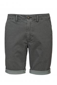 Pantaloni scurti slim gri