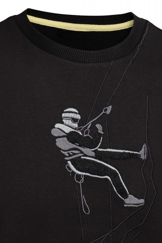 Bluza neagra alpinist