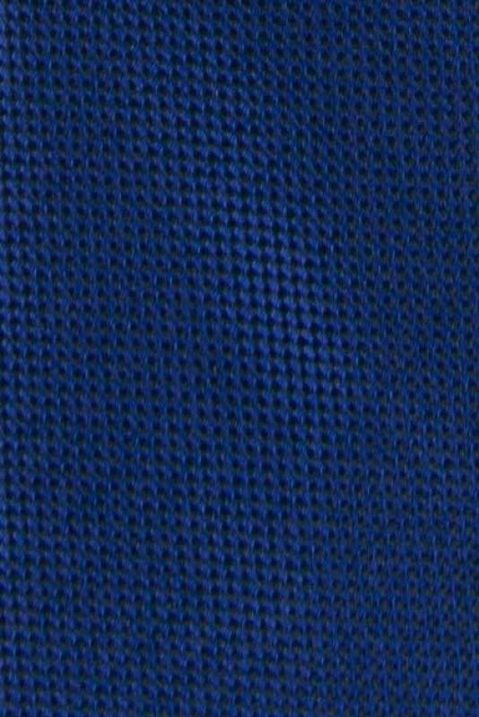 Cravata poliester tesut albastra cu structuri