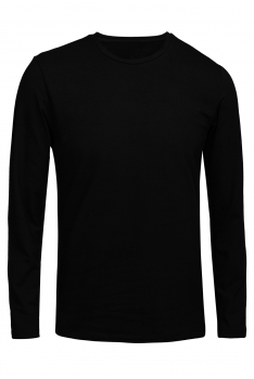 Bluza slim neagra uni
