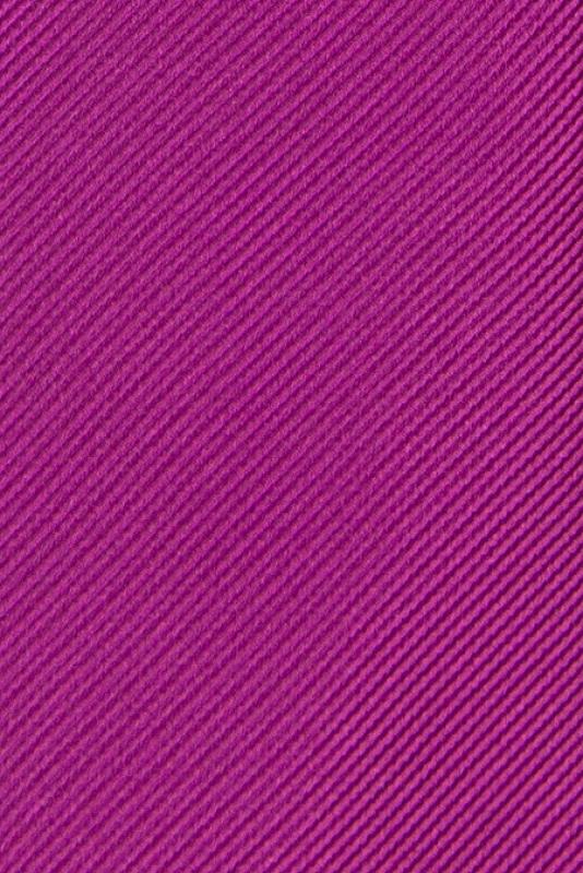 Cravata poliester tesut roz uni