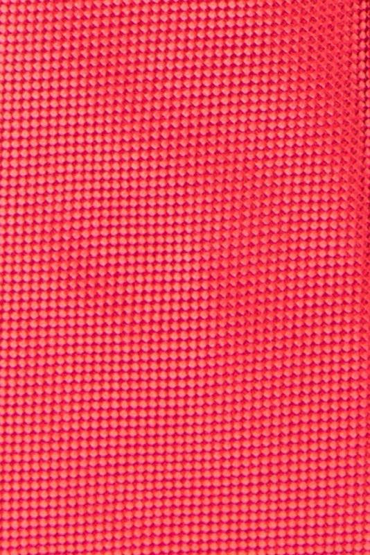 Cravata poliester tesut corai uni