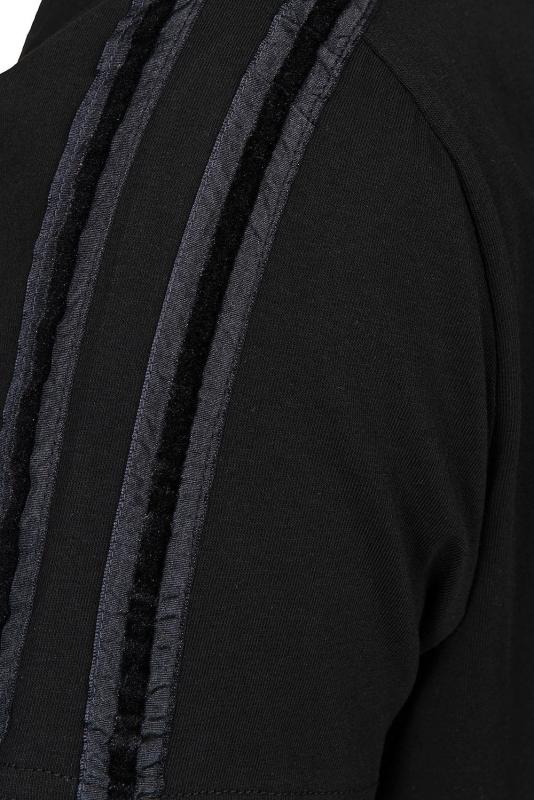 Tricou slim negru
