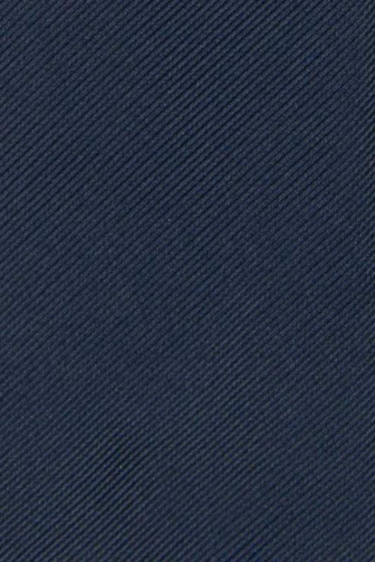 Cravata poliester tesut bleumarin uni